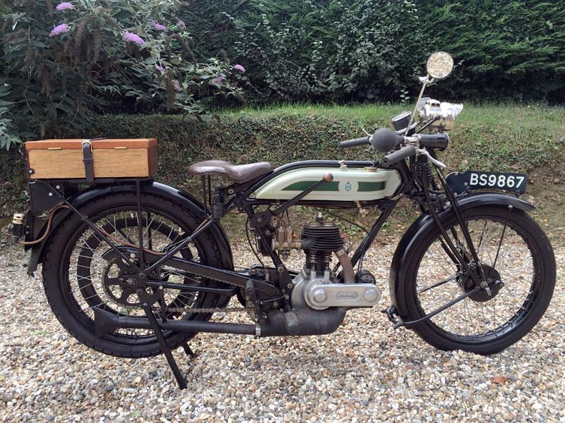 Lot 94-1926 Triumph Model P