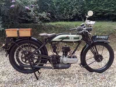 Lot 94 - 1926 Triumph Model P