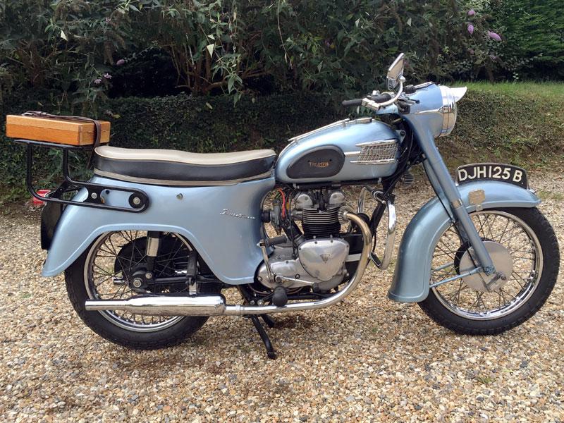 Lot 28-1964 Triumph 3TA Twenty One