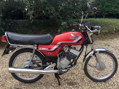 Lot 82 - 1988 Honda H100SJ