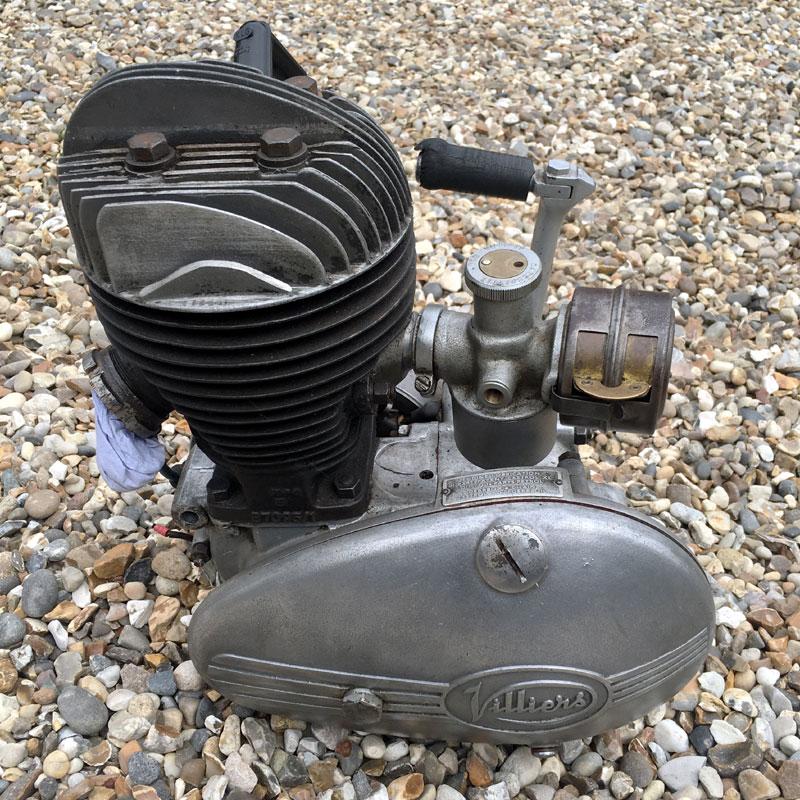 Lot 24-Villiers 197cc Engine