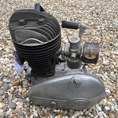 Lot 24 - Villiers 197cc Engine