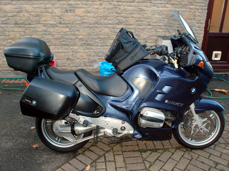 Lot 54-2001 BMW R1150RT