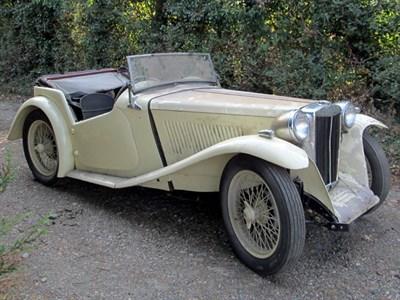 Lot 3-1939 MG TA