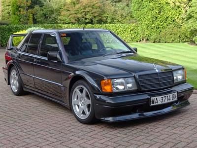 Lot 40-1990 Mercedes-Benz 190 E 2.5-16 Evolution II