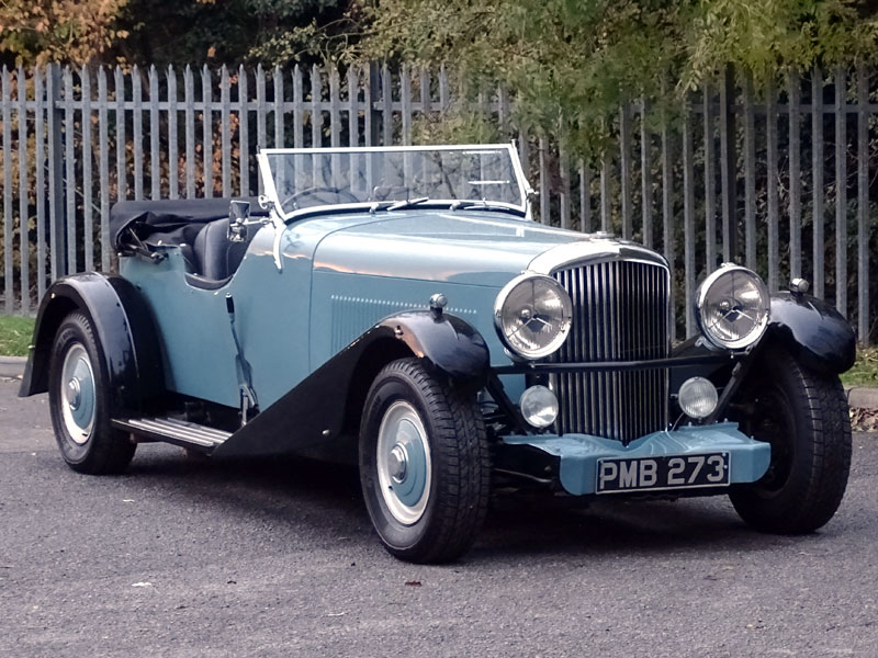 Lot 23 - 1952 Bentley R-Type Straight-Eight Special 'The Fire Engine'