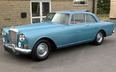 Lot 30-1964 Bentley S3 Continental Mulliner Park Ward
