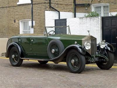 Lot 77-1929 Rolls-Royce Phantom I All-Weather Tourer