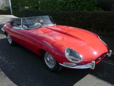 Lot 25-1962 Jaguar E-Type 3.8 Roadster