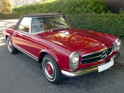 Lot 38-1968 Mercedes-Benz 280 SL
