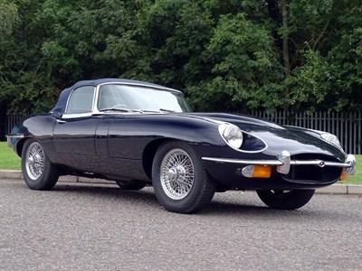 Lot 74-1969 Jaguar E-Type 4.2 Roadster