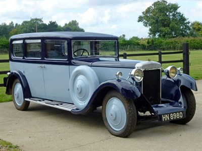 Lot 79-1933 Daimler Six V.20/25 Limousine Sleeve-Valve