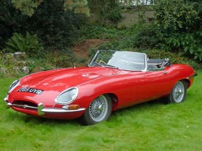Lot 15-1962 Jaguar E-Type 3.8 Roadster