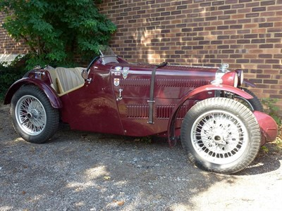Lot 47-1934 MG PA Supercharged Special