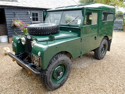 Lot 54-1957 Land Rover 88