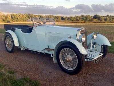 Lot 59-1930 Aston Martin International 1.5 Litre Short Chassis Tourer
