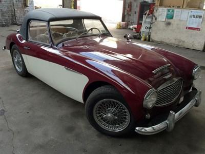 Lot 68-1961 Austin-Healey 3000 MKI