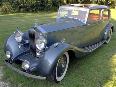 Lot 42-1937 Rolls-Royce 25/30 Saloon
