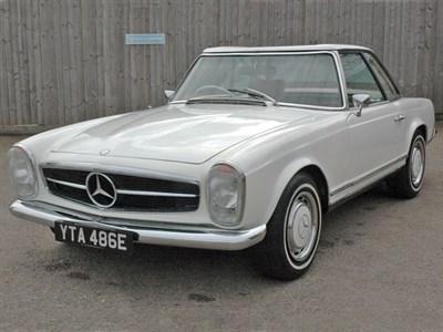Lot 16-1967 Mercedes-Benz 250 SL