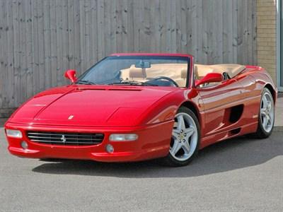 Lot 33-1998 Ferrari F355 F1 Spider