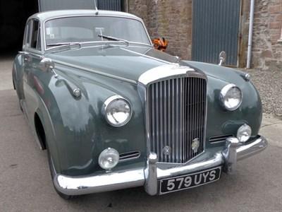 Lot 4-1960 Bentley S2 Saloon