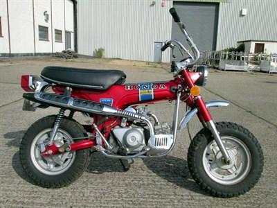 Lot 55-1973 Honda CT70 K1