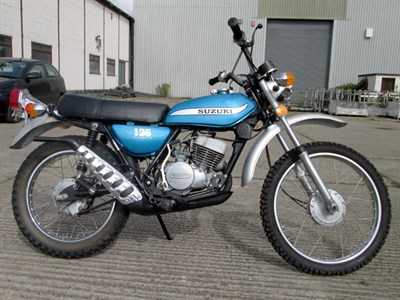 Lot 30-1975 Suzuki TS125