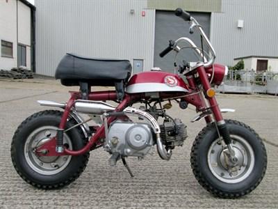 Lot 3-1969 Honda Z50A K1