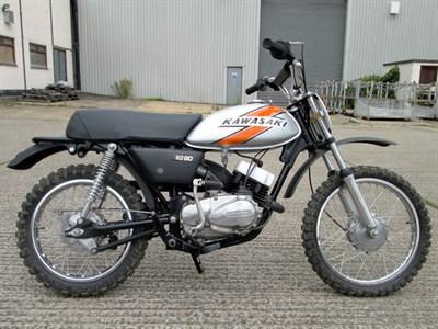 Lot 24-1976 Kawasaki KD80-A2