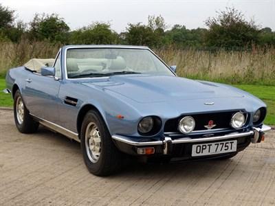 Lot 92-1979 Aston Martin V8 Volante