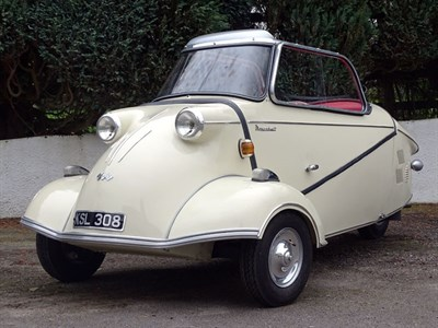 Lot 41-1958 Messerschmitt KR200 Cabriolet