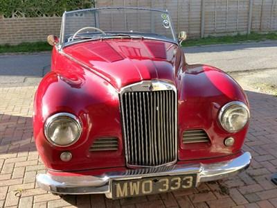 Lot 69-1954 Sunbeam Alpine Special