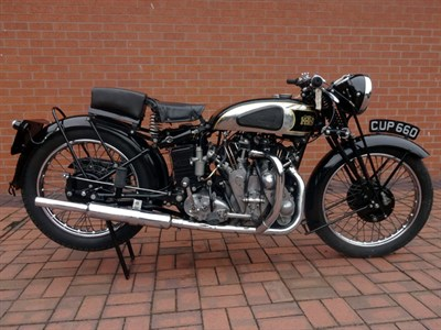 Lot 64 - 1938 Vincent Rapide Series A
