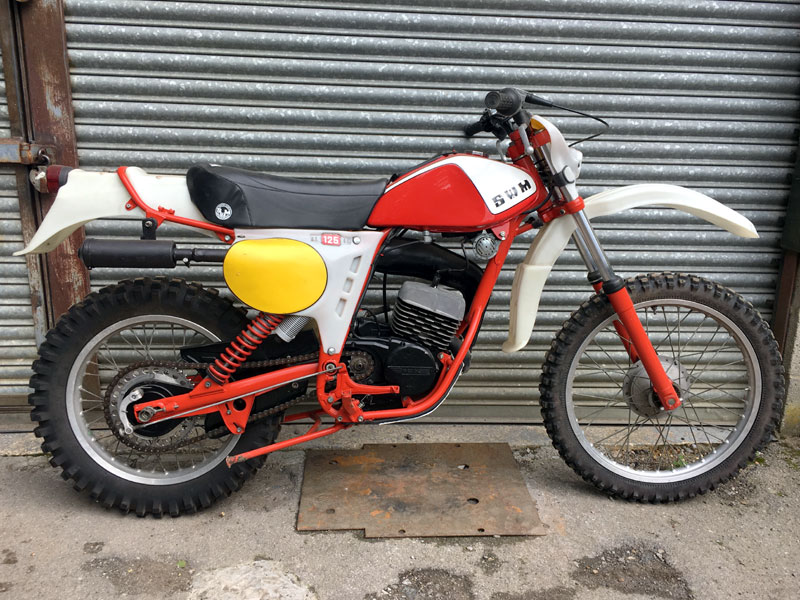 Lot 90-c.1977 SWM RS125 GS