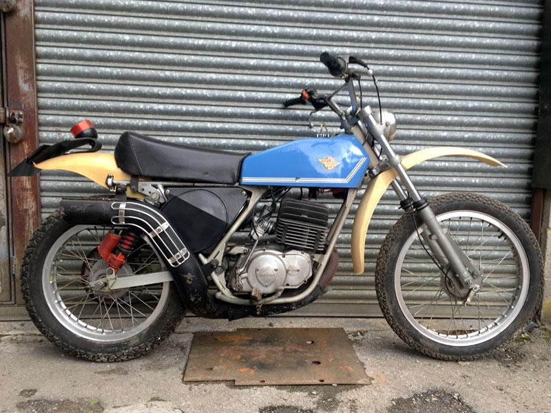 Lot 95-1976 Ducati DM125
