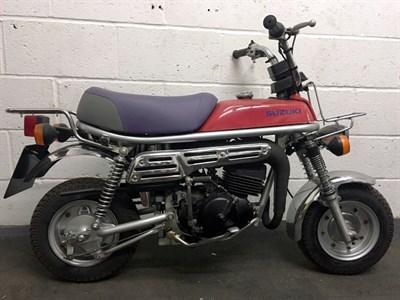 Lot 63 - 1979 Suzuki PV50