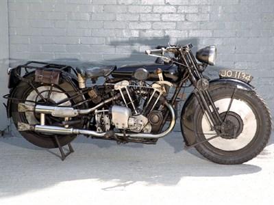 Lot 25 - 1930 Brough Superior 680 Black Alpine