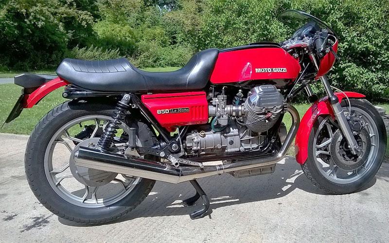 Lot 66-1978 Moto Guzzi Le Mans Replica