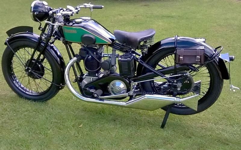 Lot 56-1930 New Imperial Model 7B