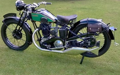 Lot 56 - 1930 New Imperial Model 7B