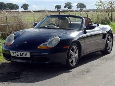 Lot 19-1998 Porsche Boxster
