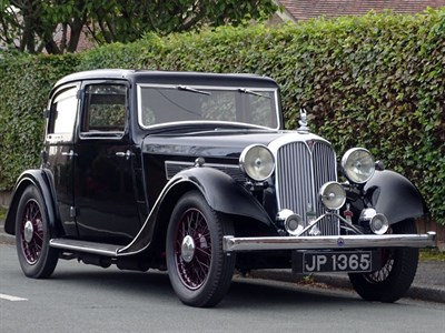 Lot 38 - 1936 Rover 12hp Sports Saloon