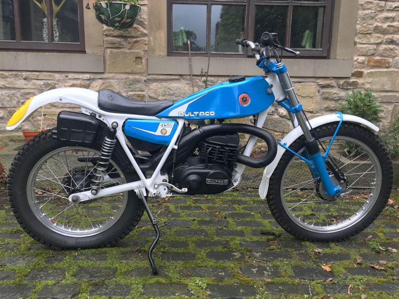 Lot 29-1981 Bultaco Sherpa T 350