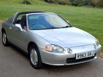 Lot 19 - 1997 Honda Civic CRX ESi