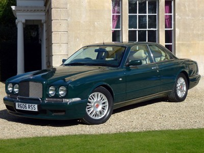 Lot 21-1997 Bentley Continental R