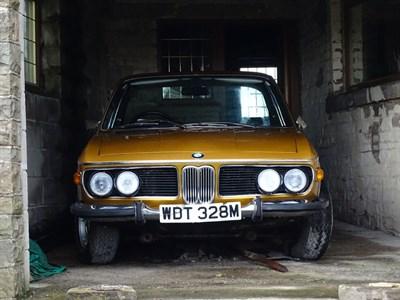 Lot 65 - 1973 BMW 3.0 CSi