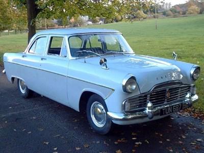 Lot 20 - 1959 Ford Zodiac MKII
