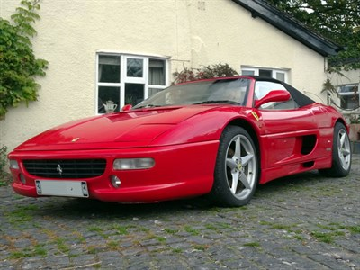 Lot 85 - 1997 Ferrari F355 Spider