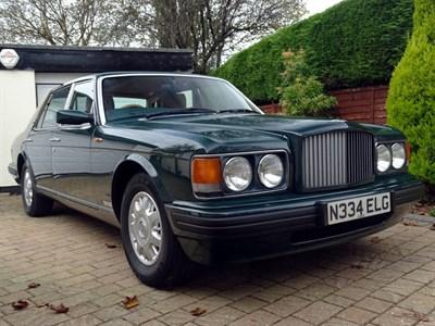 Lot 44 - 1995 Bentley Brooklands LWB