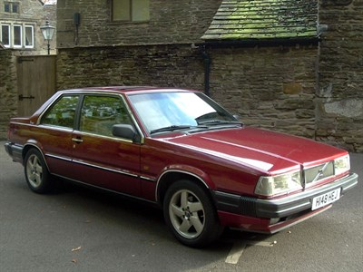 Lot 7 - 1990 Volvo 780 2.8 V6